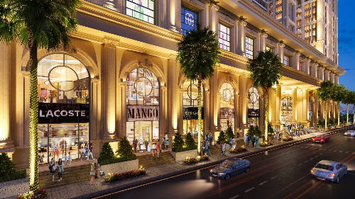 Dự án Rome by Diamond Lotus kết hợp kiến trúc cổ điển và sinh thái