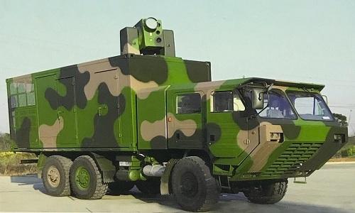 Xe chiến đấu gắn pháo laser trong tổ hợp LW-30 của Trung Quốc. Ảnh: Defence Blog.