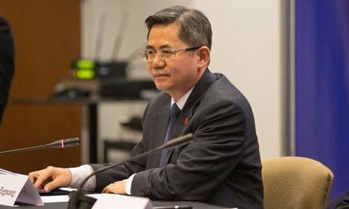 Thứ trưởng Ngoại giao Trung Quốc Trịnh Trạch Quang. Ảnh: AP.