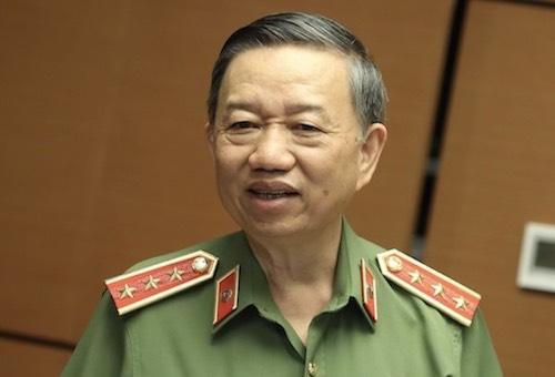 Bộ trưởng Công an - Thượng tướng Tô Lâm. Ảnh: Võ Hải