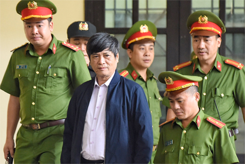 Cựu cục trưởng C50 Nguyễn Thanh Hoá. Ảnh: Giang Huy