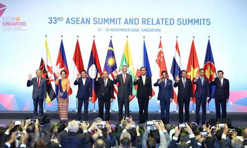 Thủ tướng Nguyễn Xuân Phúc dự khai mạc Hội nghị Cấp cao ASEAN tại Singapore