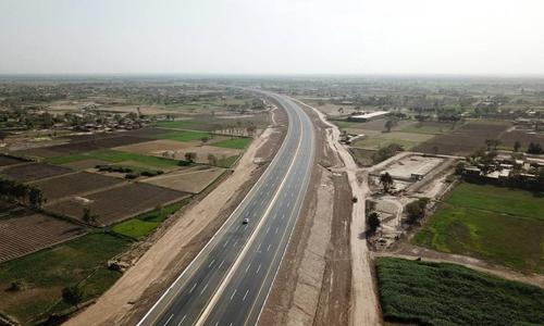 Đường cao tốc Multan-Sukkur ởPakistan nằm trong sáng kiến Vành đai và Con đường của Trung Quốc. Ảnh: Xinhua.