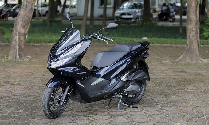 Honda PCX Hybrid - xe ga la cho khach Viet