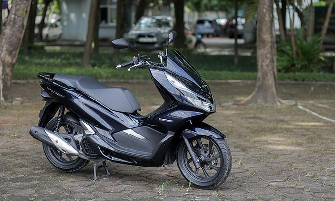 Honda PCX Hybrid - xe ga lạ cho khách Việt