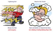 Tám thành ngữ tiếng Anh gắn với hiện tượng thời tiết