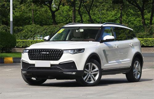 Trong ảnh là Zotye T700, mẫu crossover đang bán ra tại Trung Quốc và được đối tác của Zotye đăng tải hình ảnh trên website.