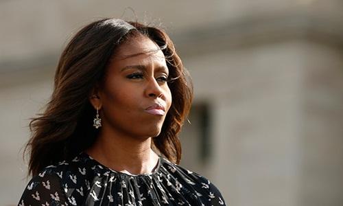 Cựu đệ nhất phu nhân Mỹ Michelle Obama. Ảnh: Reuters.
