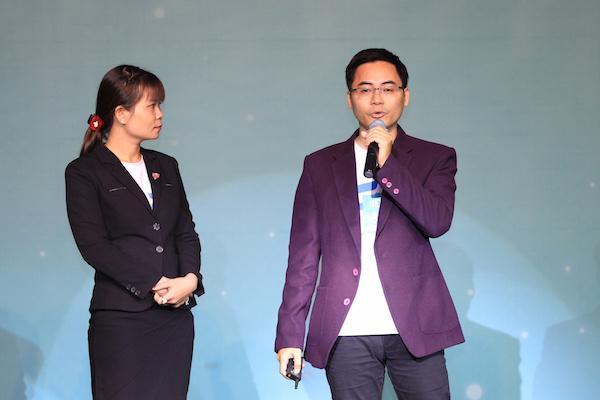 Phạm Xuân Huy - Giám đốc Dự án Bất động sản sạch giới thiệu về startup của mình.