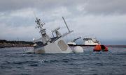 Quân đội Na Uy bảo vệ thủy thủ đoàn trên chiến hạm bị tàu dầu đâm chìm