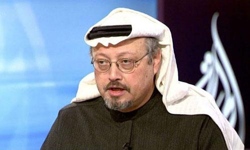Nhà báo Khashoggi khi còn sống. Ảnh: AFP.