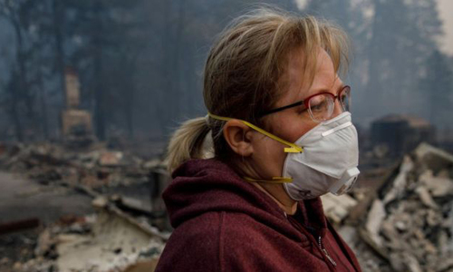 Chất lượng không khí ở California tệ nhất thế giới vì cháy rừng -