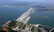 Hồ chứa của công trình dẫn nước lớn nhất thế giới ở Trung Quốc