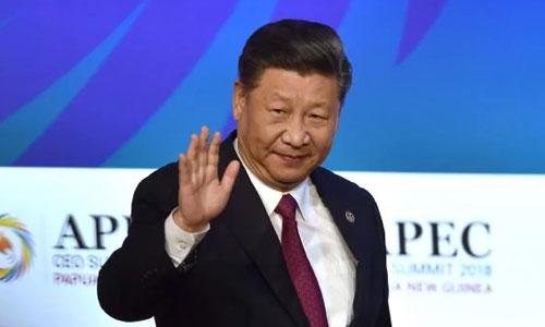 Chủ tịch Trung Quốc Tập Cận Bình tại hội nghị APEC ở Papua New Guinea. Ảnh: AFP.