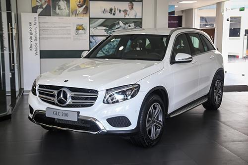 Mercedes Viet Nam giam doanh so vi cham dang kiem GLC