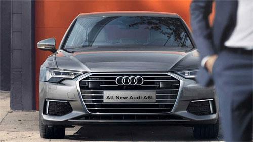 Audi A6L cũng ra mắt dịp này tại triển lãm Quảng Châu. Ảnh: Audi.