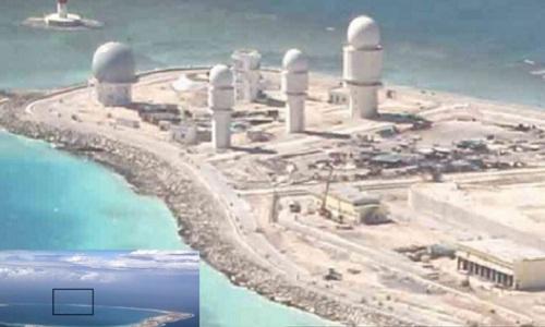 Đô đốc Mỹ cáo buộc Trung Quốc xây 'Vạn lý Trường thành tên lửa' trên Biển Đông