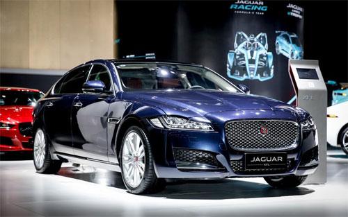 Jaguar XFL ra mắt ở Quảng Châulà phiên bản trục cơ sở dài chỉ dành cho khách hàng Trung Quốc. Ảnh: Chery Jaguar Land Rover.