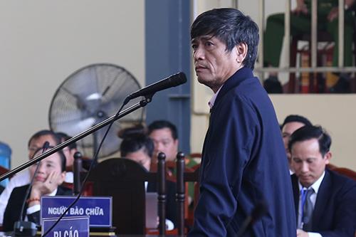 Lời khai của ông Hóa bị Nguyễn Văn Dương phủ nhận. Ảnh: Phạm Dự