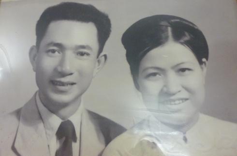 Vợ chồng nhà tư sản yêu nước Trịnh Văn Bô. Ảnh tư liệu.