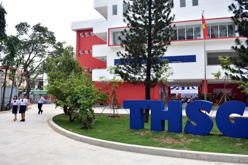 Trường Trung học Thực hành Đại học Sài Gòn (thuộc UBND TP HCM). Ảnh: Mạnh Tùng.