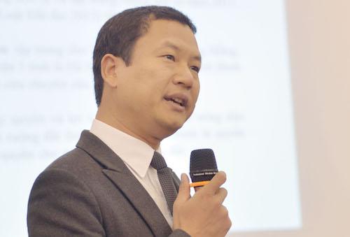 TS Nguyễn Hữu Thọ, Phó ban chính sách phát triển nông thôn, CIEM. Ảnh: Tất Định