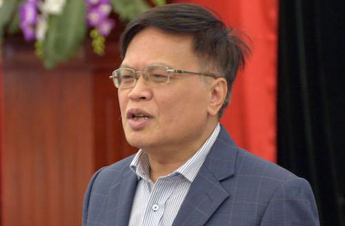 Ông Nguyễn Đình Cung, Viện trưởng nghiên cứu quản lý kinh tế Trung ương. Ảnh: Tất Định