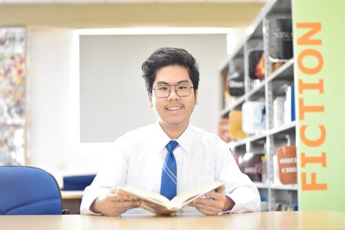 Em Mai Phước Minh Quân là học sinh lớp 12 chương trình IB tại AIS.