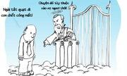 Chồng chết cóng ở thiên đàng vì vợ