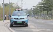 Taxi tự lái đầu tiên của Trung Quốc chạy thử trên đường phố