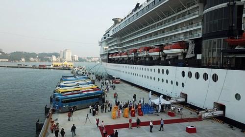 Cảng tàu khách quốc tế nghìn tỷ đi vào hoạt động