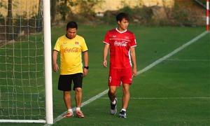 Văn Toàn trở lại tập luyện, có thể đá bán kết lượt về AFF Cup