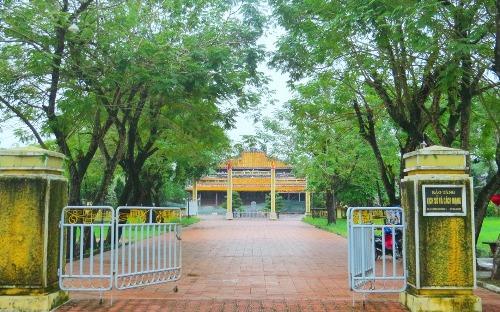Quốc Tử Giám, ngôi trường do triều Nguyễn lập nên đào tạo nhân tài. Ảnh: Võ Thạnh
