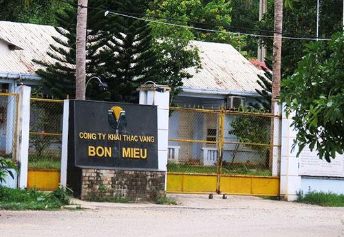 Công ty vàng Bồng Miêu phá sản