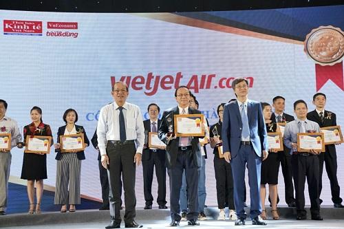 Vietjet nhận danh hiệu hãng hàng không được lựa chọn nhiều nhất