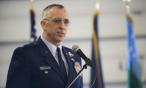 Đại tá Jackman khi còn là chỉ huy ANG tại Vermont. Ảnh: USNG.