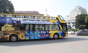 Hà Nội thêm 3 xe buýt mui trần, miễn phí trong 3 ngày