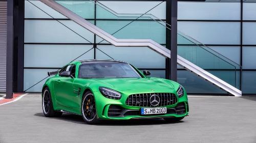 Mercedes-AMG nâng cấp GT Coupe và Roadster