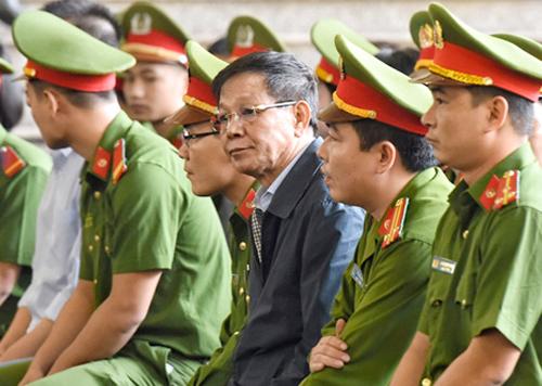 Cựu tổng cục trưởng Tổng cục Cảnh sát là bị cáo trong vụ án. Ảnh: Giang Huy