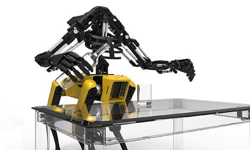 Robot có thể thực hiện nhiều tác vụ độc lập hoặc thông qua điều khiển từ xa. Ảnh: Design Boom.