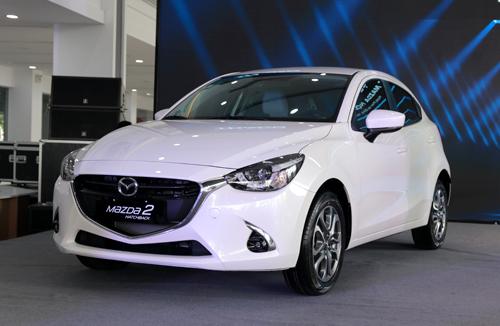 Mazda2 nhập khẩu giá từ 509 triệu ra mắt Việt Nam