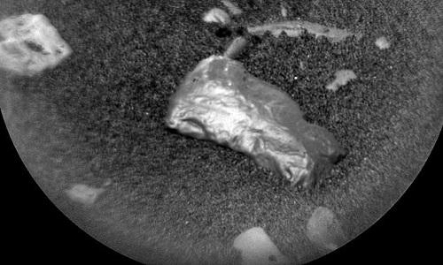 Khối đá Little Colonsay được các nhà khoa học NASA phát hiện trong một bức ảnh. Ảnh: NASA.