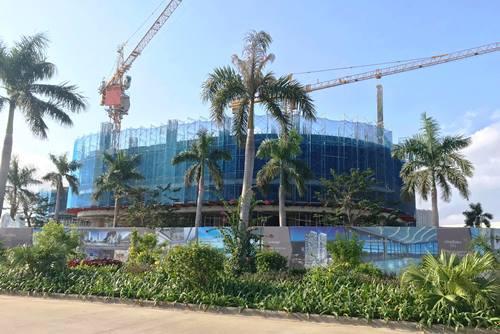 Dự án Citadines Marina Hạ Long, nơi xảy ra tai nạn. Ảnh: Minh Cương