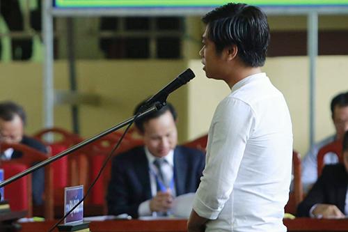 Con bạc Phạm Quang Thành. Ảnh: Phạm Dự.