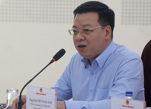 Ông Nguyễn Tuấn Anh, Vụ phó Vụ Pháp chế-Thanh tra Chính phủ cho biết dự kiến tháng 4/2019 sẽ trình Chính phủ Bộ quy tắc ứng xử tham nhũng. Ảnh: Bá Đô