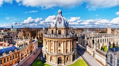 Khuôn viên chính của Đại học Oxford. Ảnh: Anglotopia Magazine