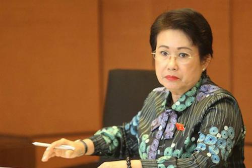 Bà Phan Thị Mỹ Thanh - nguyên Phó bí thư Tỉnh ủy Đồng Nai. Ảnh: Võ Văn Thành