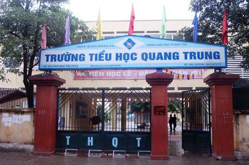 Trường Tiểu học Quang Trung, quận Đống Đa (Hà Nội).
