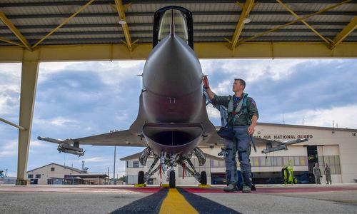 Sự cố khiến tiêm kích F-16 suýt đâm xuống thủ đô Mỹ năm 2017 - ảnh 2