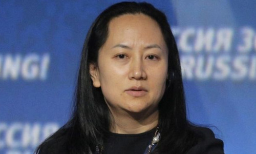 Giám đốc tài chính Huawei Mạnh Vãn Châu. Ảnh: BBC.